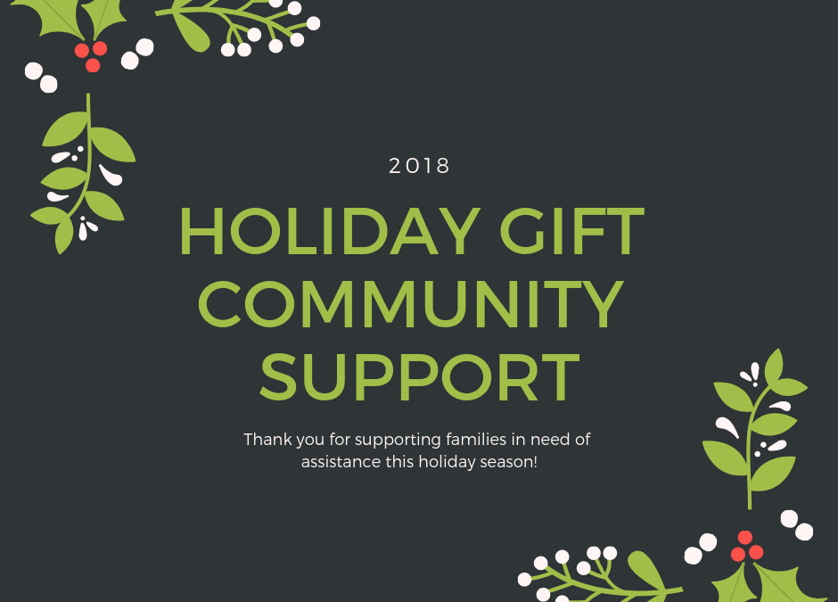 2018 Holiday Gift Support