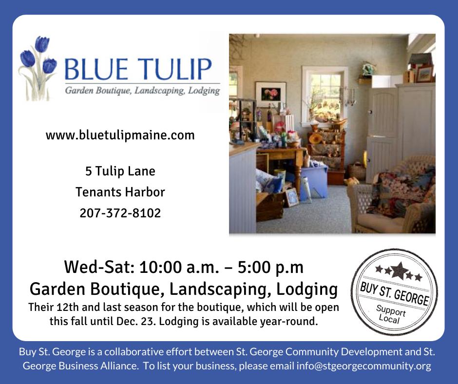 Blue Tulip Garden Boutique